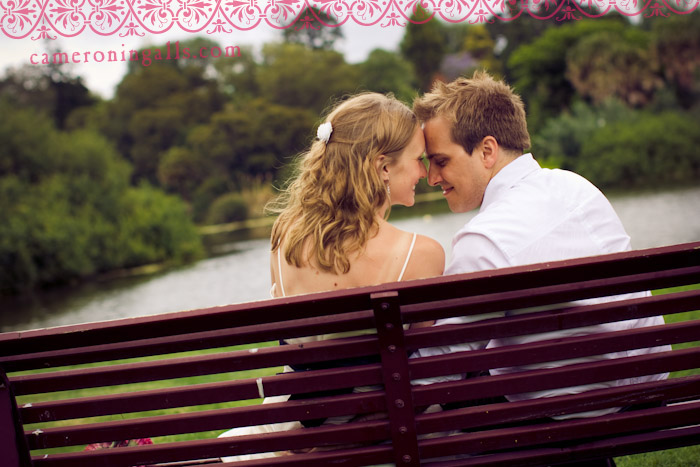 Melbourne, Australia, wedding photographs of Wes Butler + Samantha Chapple taken by Cameron Ingalls