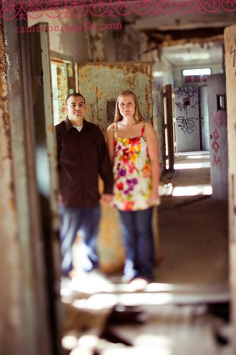 engagement pictures taken by Cameron Ingalls of Calli + Tyler in San Luis Obispo