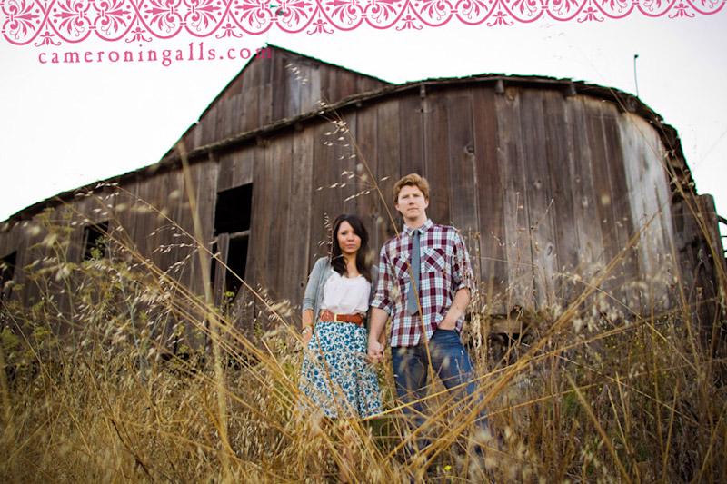 San Luis Obispo, engagement photographs of Danielle Johnson + Jeremy Mace taken by Cameron Ingalls