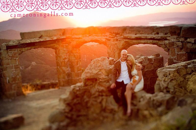 Knapps Castle, Santa Barbara, engagement photographs of Devon Watkins + Tim Reinauer taken by Cameron Ingalls