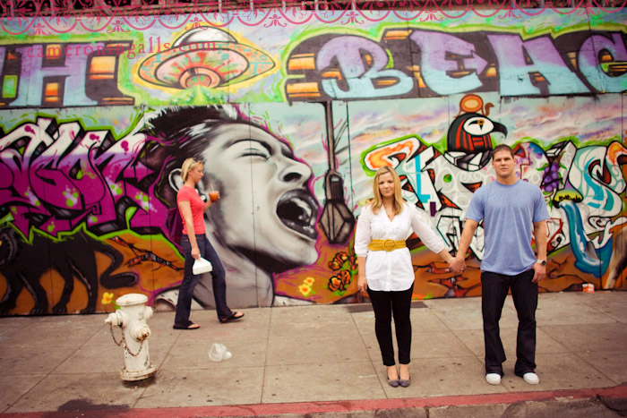 engagement pictures of Emily + Meeko photographed by Cameron Ingalls in San Francisco, CA
