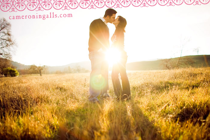 Santa Margarita engagement photographs of Erin Simmermaker + Nick taken by Cameron Ingalls