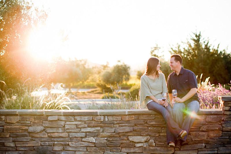 San Luis Obispo, engagement photographs of Erin Villa + Seth Pearson taken by Cameron Ingalls
