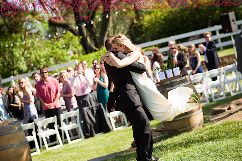 Santa Margarita wedding photographs of Leah Greenstein + Neal Ferrazzani taken by Cameron Ingalls