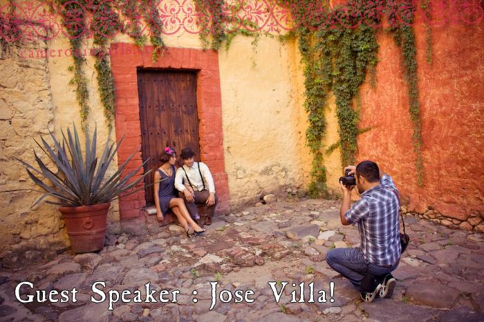 Guest Speaker: Jose Villa. image taken by Cameron Ingalls
