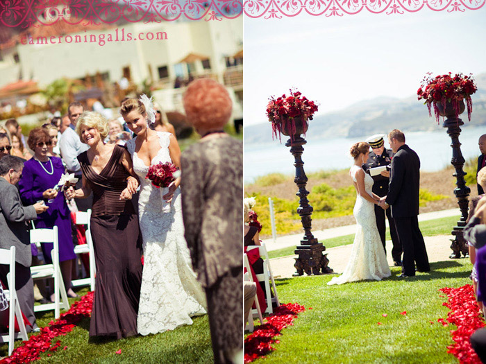 The Cliffs Resort, Pismo Beach, Shell Beach, wedding photographs of Billy + Holly taken by Cameron Ingalls