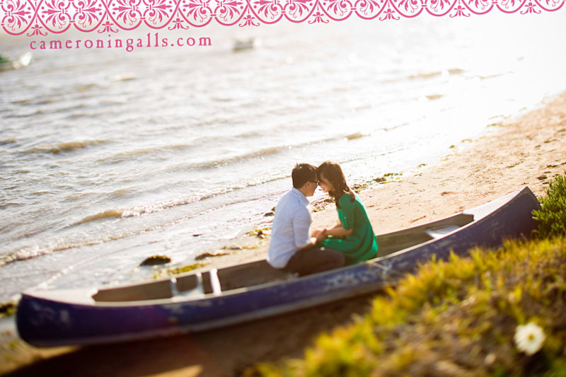 Los Osos, engagement photographs of Jennifer Leung + Jonathan Tse taken by Cameron Ingalls