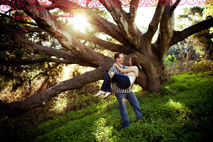 engagement pictures taken by Cameron Ingalls of Jennifer and Patrick in Los Osos and Montana De Oro