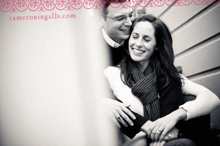 San Francisco, engagement photographs of Jessica Spenchian + Matt Eade taken by Cameron Ingalls