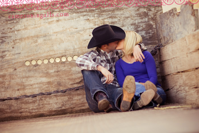engagement pictures of Katie + Kyle taken by Cameron Ingalls, Inc. in Morro Bay, California