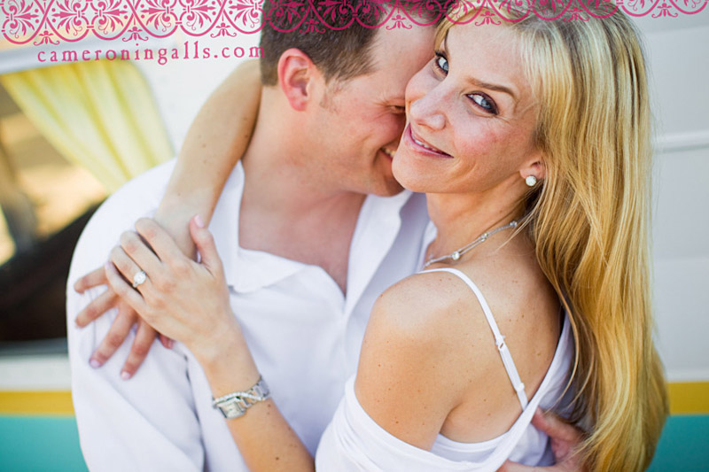 Los Olivos, engagement photographs of Kelly Trotter + John King taken by Cameron Ingalls
