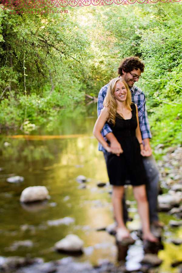 San Luis Obispo engagement photographs of Kimberly Anderson + Matthew Loker taken by Cameron Ingalls