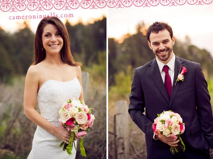 Big Sur, Henry Miller Library, wedding photographs of Mark Kohler + Katie Sherman taken by Cameron Ingalls