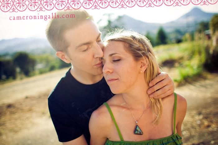 San Luis Obispo, engagement photographs of Leah + Neal taken by Cameron Ingalls