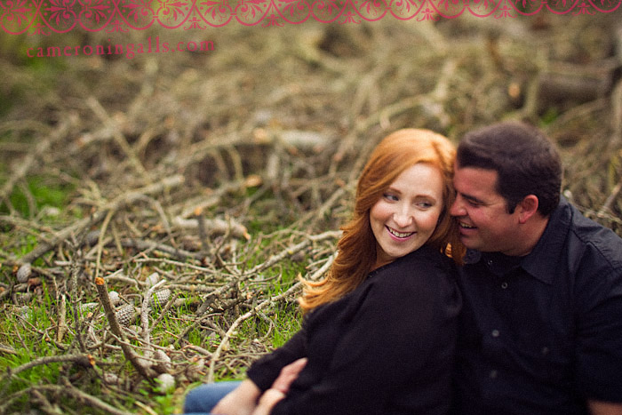 Monterey, engagement photographs of Lindsay Cesmat + Matt Faust taken by Cameron Ingalls