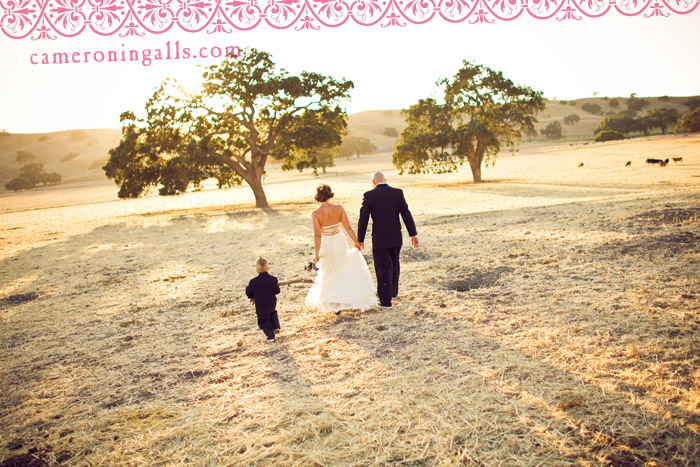 Los Olivos, wedding photographs of Matthew + Amanda taken by Cameron Ingalls