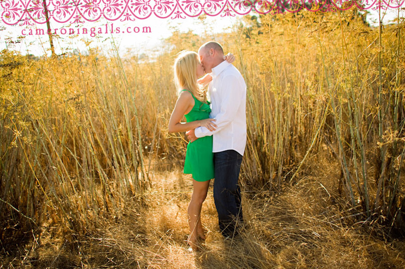 San Luis Obispo, engagement photographs of Megan Boysen + Brad Osborn taken by Cameron Ingalls