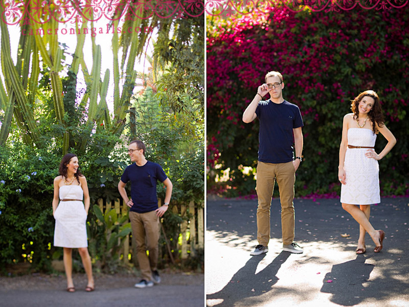 San Juan Capistrano, engagement photographs of Megan Boysen + Brad Osborn taken by Cameron Ingalls