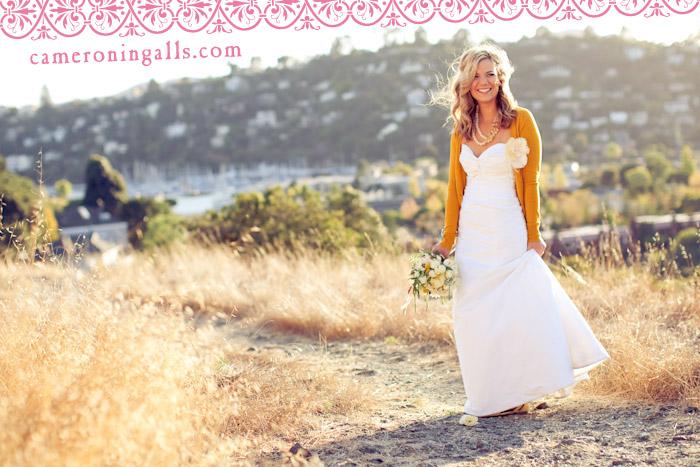 Tiburon, wedding photographs of Emily + Meeko taken by Cameron Ingalls