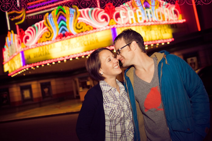 San Luis Obispo engagement photographs of Morgan Lindsey + Joel Limpic taken by Cameron Ingalls