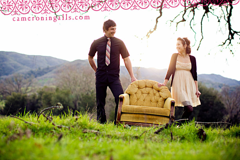 Santa Margarita, engagement photographs of Nichole Williams + Ben Potter taken by Cameron Ingalls