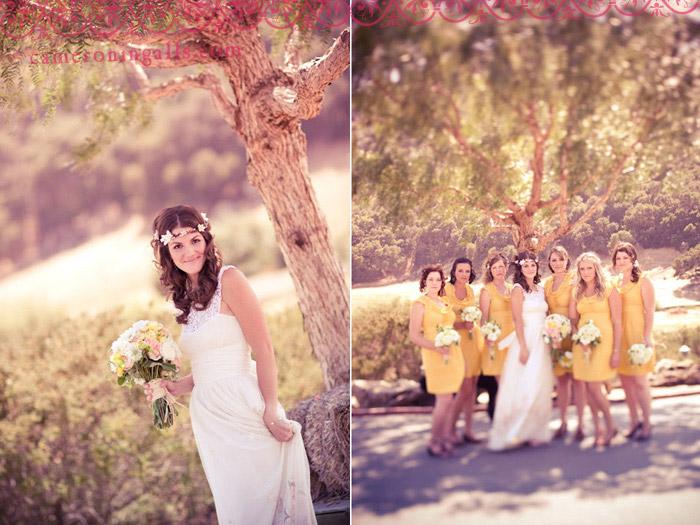 Holland Ranch, San Luis Obispo, wedding photographs of Adam + Marisa taken by Cameron Ingalls