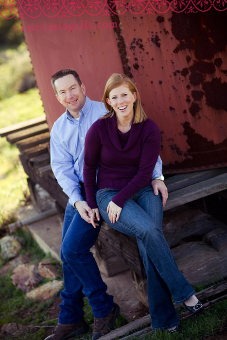 engagement pictures of Sarah and Brian taken by Cameron Ingalls in Nipomo, CA