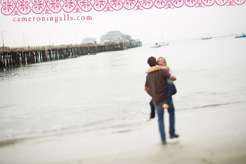 San Luis Obispo, engagement photographs of Selena Irons-Schaff + John McCalip taken by Cameron Ingalls