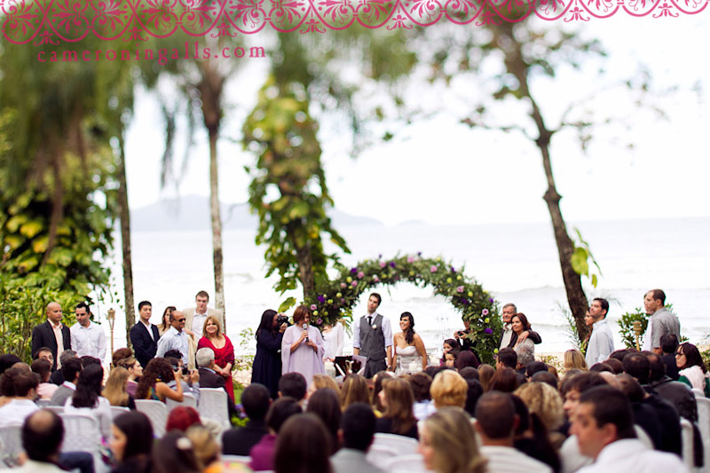 Yubatuba, Brazil, wedding photographs taken by Cameron Ingalls