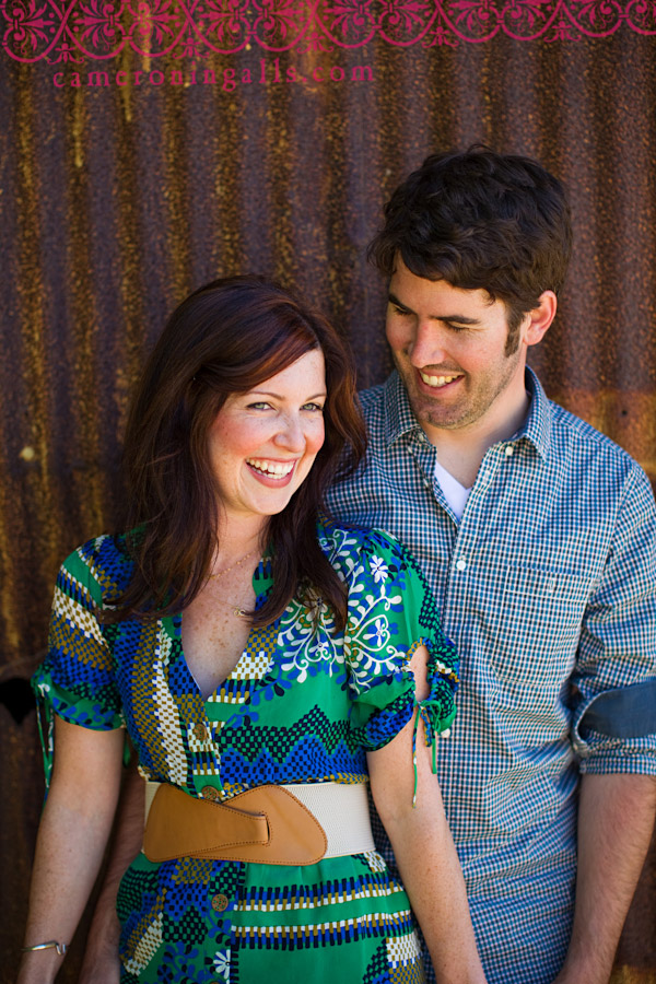 Flying Caballos Ranch, San Luis Obispo, engagement photographs of Tracey Clark + Ross Heiman taken by Cameron Ingalls
