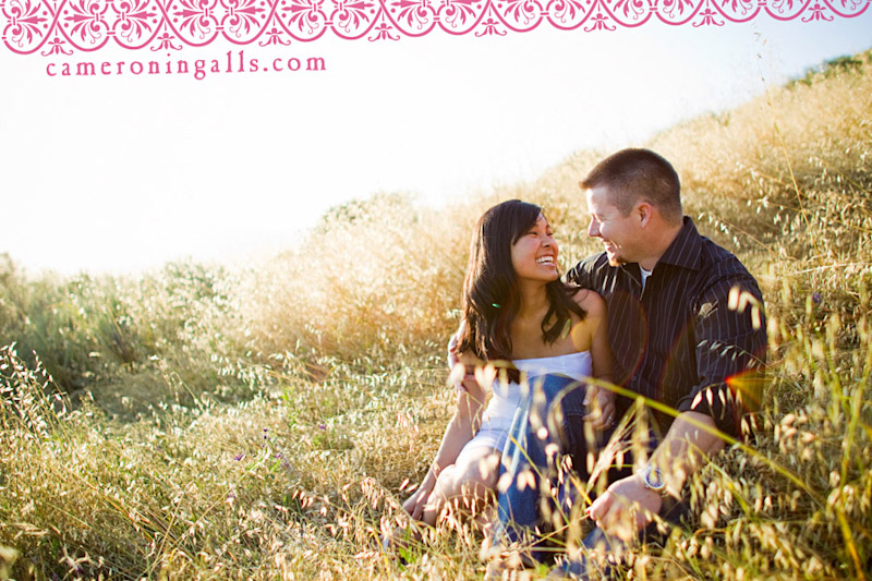 San Luis Obispo, engagement photographs of Wendy Okimura + Matt Diaz taken by Cameron Ingalls