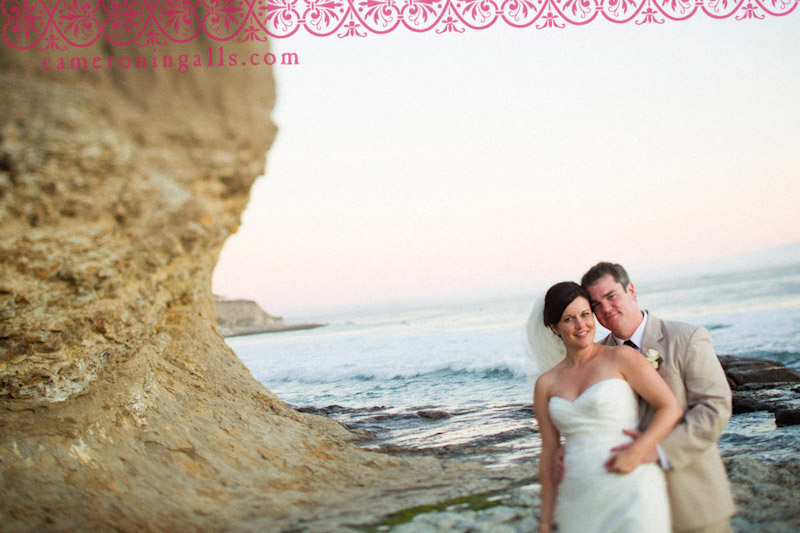 Cliffs Resort, Shell Beach wedding photographs of Denise Murphy + Michael Williams taken by Cameron Ingalls