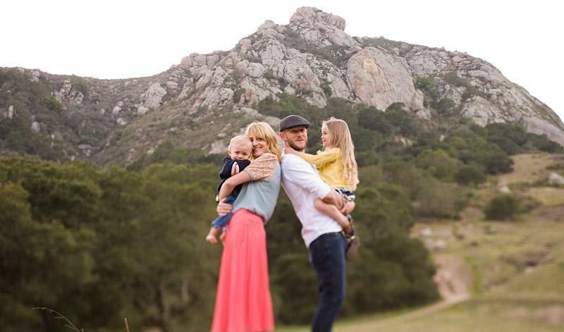 Hudson Family Bishops Peak