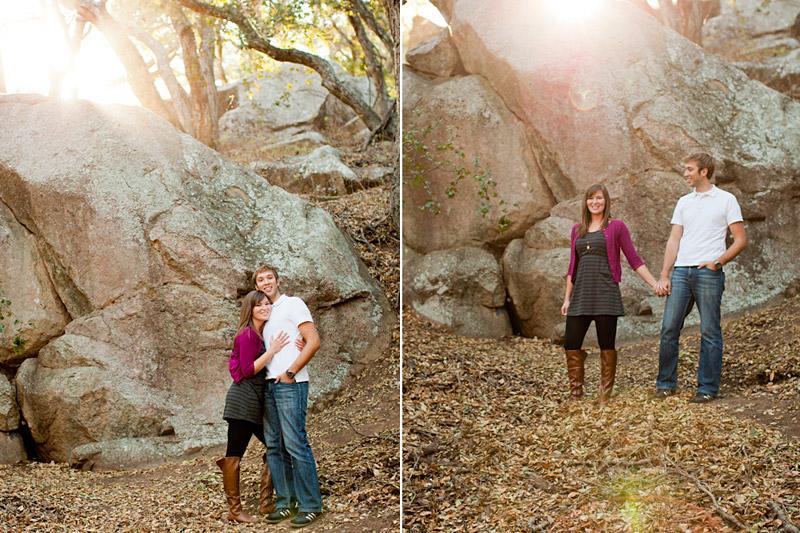 San Luis Obispo Bishops Peak Engagement Photos Megan & Joe