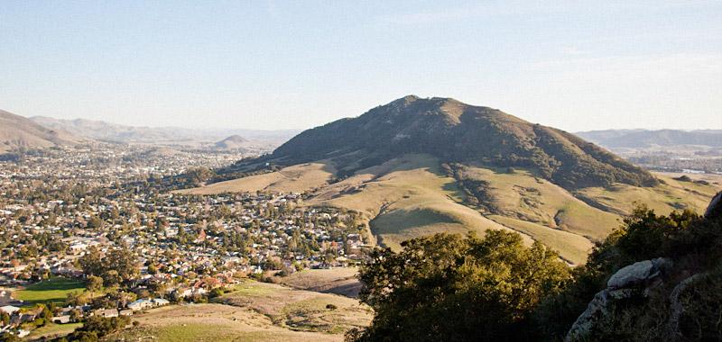 San Luis Obipo view from Bishops Peak