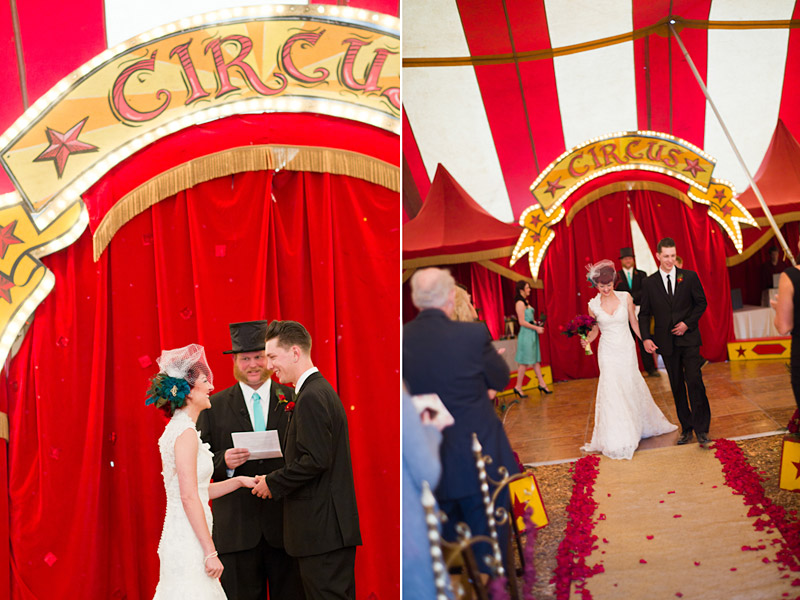Ventura county  wedding under vintage circus tent 3 of 3