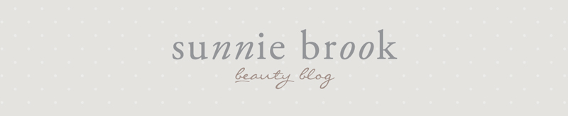 Sunnie Brook Beauty Blog Header