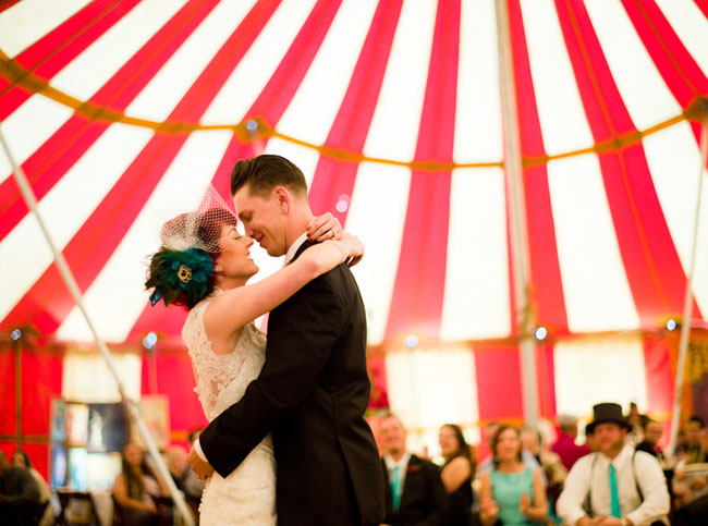 Ventura county couple's circus wedding by cameron ingalls
