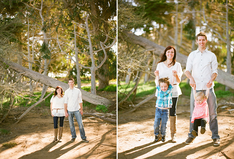 Los Osos Family Photography, portrait of parents and family
