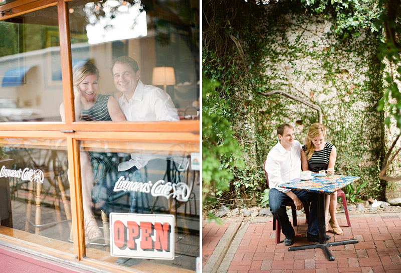 san luis obispo engagement session of couple at a coffee shop (3 of 4)