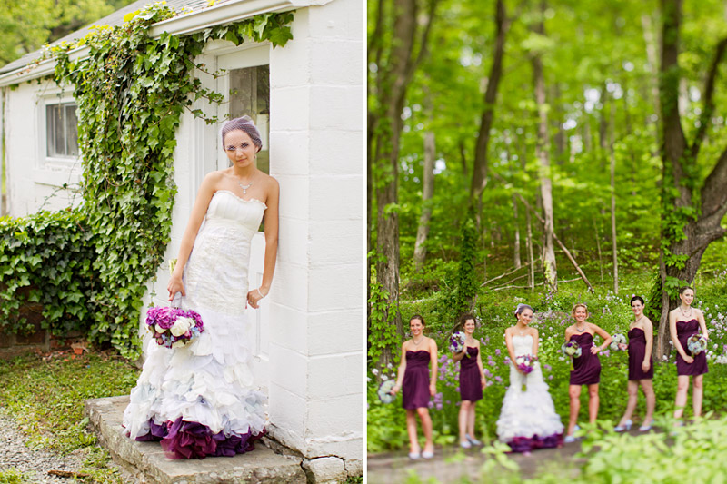Virginia wedding photography of bride and  bridal party (1 of 3)