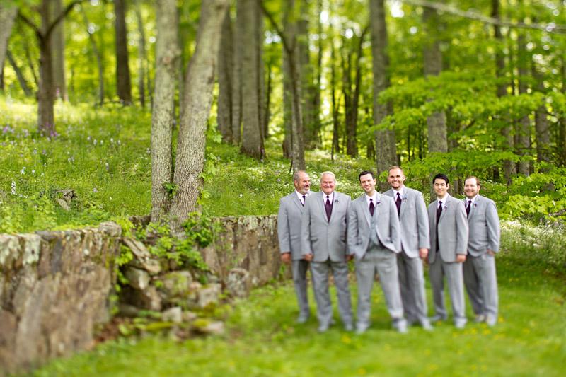 Virginia wedding photography of groomsmen and groom (1 of 3)