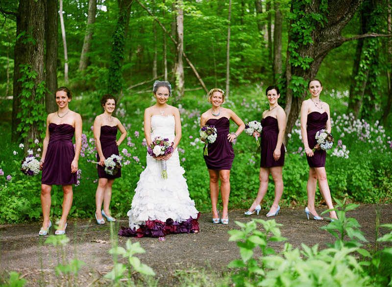 Virginia wedding photography of bride and  bridal party (2 of 3)