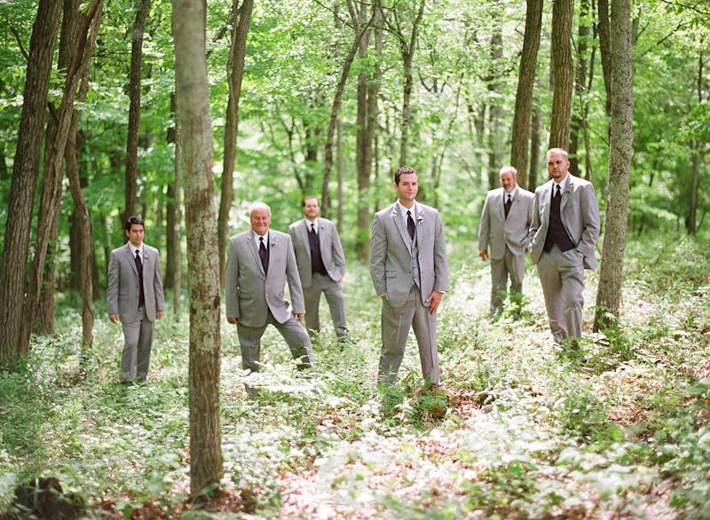 Virginia wedding photography of groomsmen and groom (2 of 3)