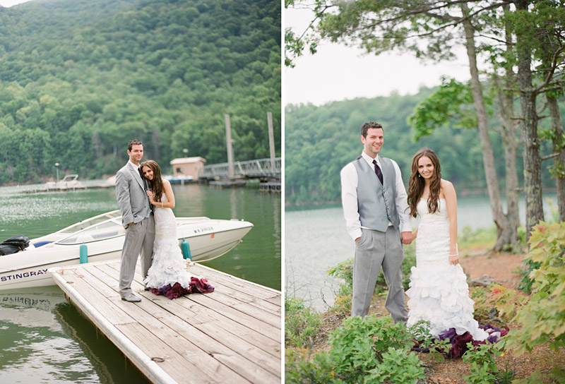 Virginia wedding photography couple at the lake (1 of 5)