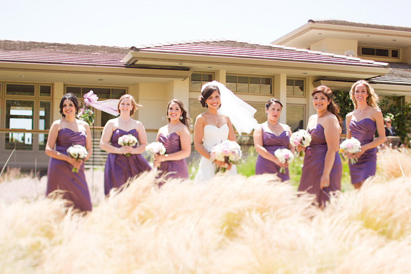 san luis obispo wedding photography of the bride and her bridesmaids (1 of 2)