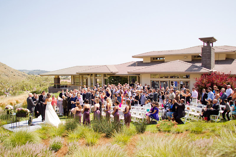 central coast wedding photography - wedding ceremony at a private residence (1 of 3)