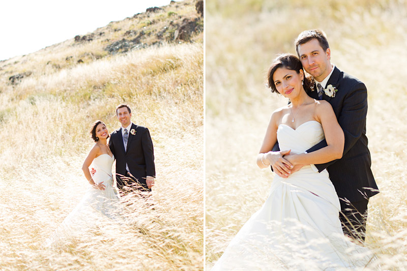 San luis obsipo wedding photography of a couple in a field with beautiful light (3 of 5)