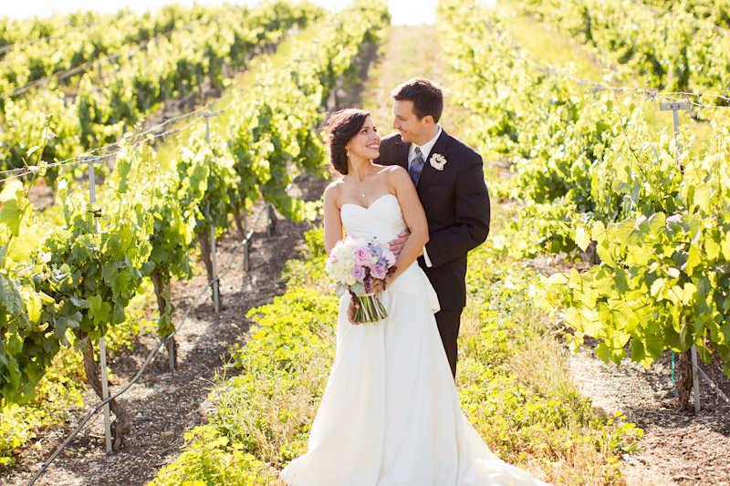 San luis obsipo wedding photography of a couple in a vineyard  (2 of 2)