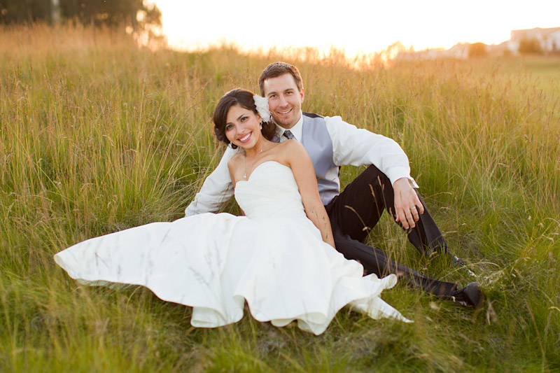 central coast wedding photography couple in a field at sunset (4 of 4)